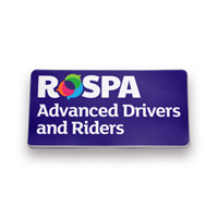 RoSPA Advanced Drivers and Riders - Window Sticker