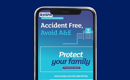 RoSPA Accident Free Avoid A & E - Social Media Assets