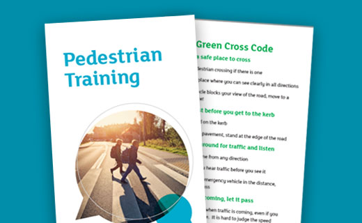 Pedestrian training