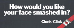 An example of a seatbelt advert.