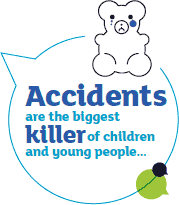 Accidents are the biggest killer of children and young people